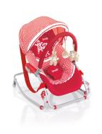 Brevi Sitter Baby Rocker Soft Toy with hood 089